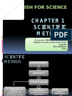 Chapter 1-Scientific Methods