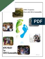 Ntpc Policy Csr Sustainability