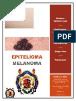 Melanoma Epitelioma Portada