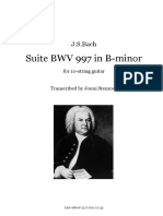 BachSuiteBWV997 10 cuerdas