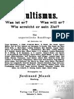 Okkultismus (1898)