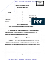 McClain v. Pfizer Verdict Sheet