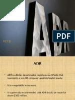 ADR's