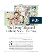 quigley the living wage and catholic social teaching