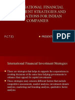 Diff Types of FDI Investmnents