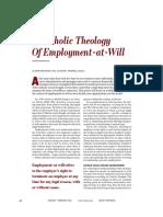 repenshek a catholic theology of employment