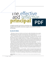 ritchie the effective and reflective principal