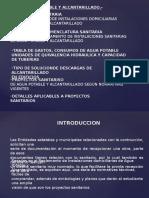 AGUA Y ALCANTARILLADO III AÑO.ppt
