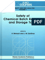 Safety of Chemical Batch Reactors and Storage Tanks