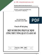 Mot So Phuong Phap Tim Cong Thuc Tong Quat Cua Day So