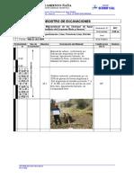 Registro de Excavaciones