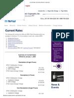 San Patricio Electric Cooperative - Current Rates