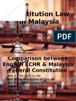 Constitution Law vs Act of Parliament