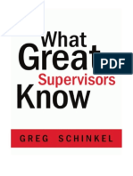 What Great Supervisors Know eBook (1)