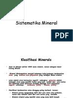 Klasifikasi Mineral Edit 2015