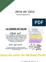 Cadena de Valor 2015
