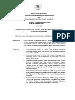 KBM MENKES Dan Kepala Badan Tenaga Nuklir Nasional No. 171 Ttg Pemanfaatan Tenaga Nuklir Di Bidan