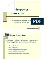L-11 HydropowerConcepts & Simulation