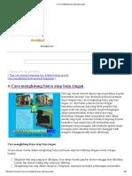Cara Menghitung Biaya Atap Baja Ringan