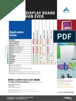 Foamboards Application Guide