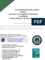 CD10 immunohistochemistry stains enteric.pptx