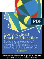 Constructivist Teacher Education