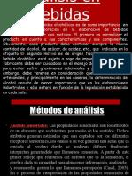 Análisis en licores  industriales. huaytara