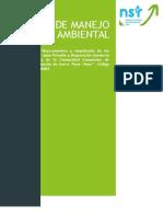 Plan de Manejo Ambiental 2015