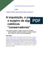 Olavo de Carvalho x Julio Severo