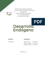 El desarrollo endogeno