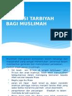 Urgensi Tarbiyah Bagi Muslimah