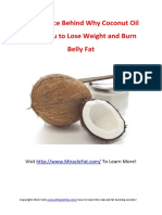 Coconut Oil For Weight Loss Report - The Science Behind How Coconut Oil Helps You Lose Weight and Burn Fat