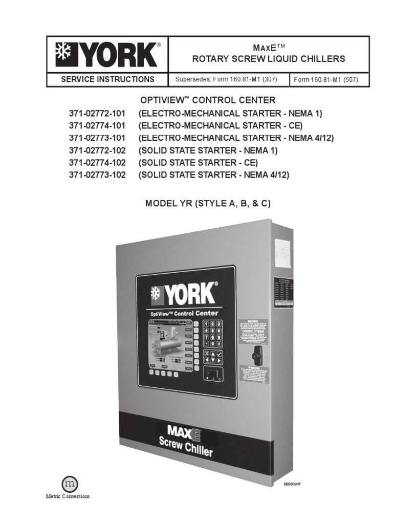 York Yk Chiller Control Wiring Diagram Electrical Diagrams Max E Model Yr Relay Booting Motor