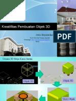 6 Tugas Pembuatan Objek 3D