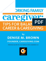 The Working Family Caregiver