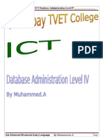ict its4 06 0811     use advanced structural query language