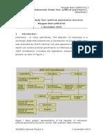 indonesian study tour-political governance