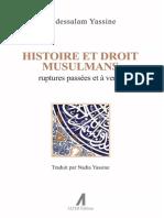 Histoire Et Droit Musulmans