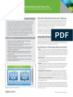 VMware VCloud Networking and Security Datasheet