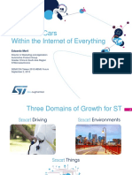 2015 SEMI MEMS Forum-04-Internet of Cars Within the Internet of Everything-ST-20150902