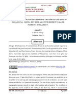 ANALYTICAL STUDY OF FERTILITY STATUS OF THE AGRICULTURE SOILS OF NAIGAON (TAL. HAVELI. DIST. PUNE. )(M.S.)WITH RESPECT TO MAJOR NUTRIENTS AVAILABILITY.