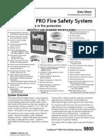 1.- Fire Alarm Panel Siemens Cerberus Pro