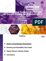 2015 SEMI MEMS Forum-06-Sensing and Sensibility for IoX in Smart Living and Healthcare6-IEK-20150902