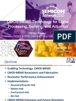 2015 SEMI MEMS Forum-07-CMOS-MEMS Technology for Signal Processing, Sensing, And Actuation-清大-20150902