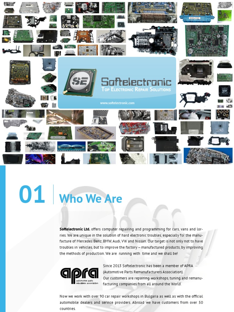 Softelectronic Presentation | Automatic Transmission | Transmission