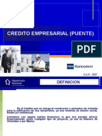 Presentacion Credito Puente Con Vinculos