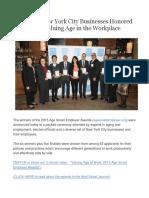 Age Smart Employer Event Summary