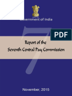Seven Pay Commission Report