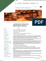 Acţiunea Civilă În Procesul Penal « Drept Md