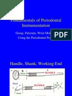 Principles of Periodontal Instrumentation